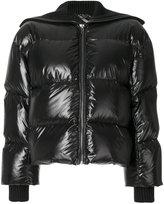 Kenzo short puffer jacket - women - Cotton/Polyamide/Polyester/Duck Feathers - S