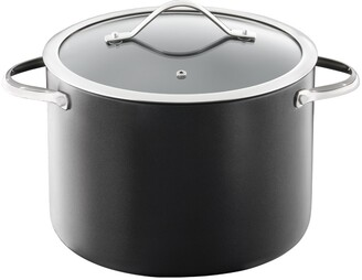 Baccarat iD3 Hard Anodised Non Stick Stockpot with Lid 24