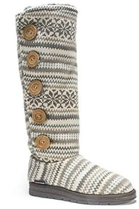 Muk Luks Women's Malena Fairisle Sweater Boot