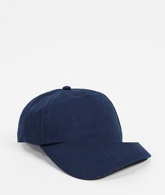 ASOS DESIGN baseball cap in navy