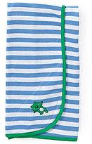 Little Me Striped Leap Frog Blanket