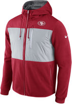 Nike Men's San Francisco 49ers Champ Drive Full Zip Hoodie