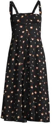 WeWoreWhat Harper Floral Midi Dress
