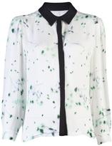 print georgette blouse