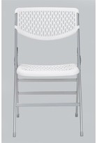 Cosco Home And Office Commercial Plastic/Resin Folding Chair Home and Office Finish: White