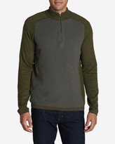 Eddie Bauer Men's Talus Textured 1/4-Zip Sweater