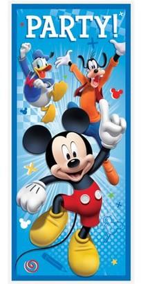 Mickey Mouse Plastic Door Poster, 5 x 2.25ft