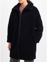 Max Mara Weekend Lipari Faux Fur Coat, Ultramarine