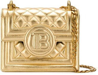 Balmain B-Bag 18 quilted crossbody bag