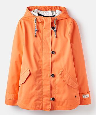 Joules Women's Rain Coats - Bright Coral Coast Rain Coat - Women