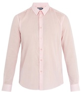Vilebrequin Point-collar Cotton-voile Shirt