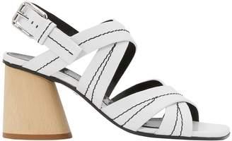 Proenza Schouler Wooden heel sandals