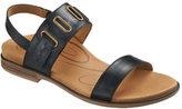 Aetrex Women's Eileen D-Ring Quarter Strap Sandal