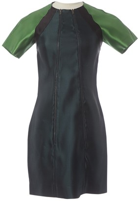 Miu Miu \N Green Silk Dresses