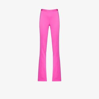 Versace High Waist Flared Trousers
