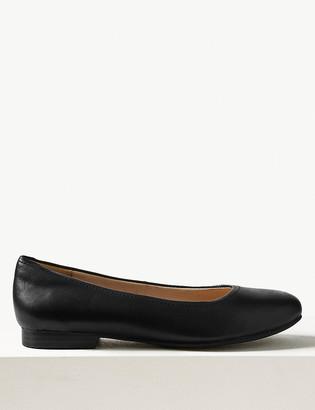 Marks and Spencer Leather Ballet Pumps