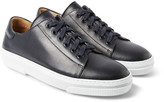 A.P.C. Rubber-Soled Leather Sneakers