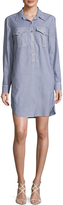 Trina Turk Women's Kenna Cotton Printed Shirtdress