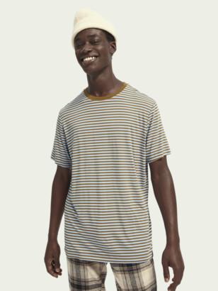Scotch & Soda Stretch bamboo-blend short sleeve t-shirt | Men