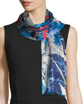 Vince Camuto Shadow Floral Oblong Scarf