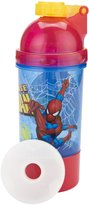 Zak Designs 15-Ounce Beverage Holder, 5-Ounce Snack Holder Good to Go Spider-Man Classic Snack and Sip Canteen with Removable Ice Pack