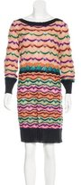 Missoni Long Sleeve Sweater Dress