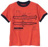 Gymboree Submarine Diagram Tee