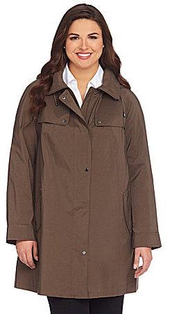 Gallery Woman A-Line Swing Coat