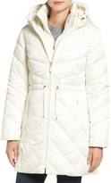 Ellen Tracy Quilted Down Anorak