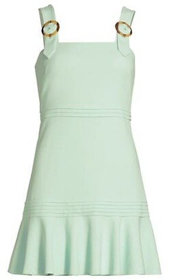 Jonathan Simkhai Clara Crepe Mini Dress