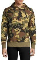 Wesc Mike Camo-Print French Terry Hooded Sweatshirt