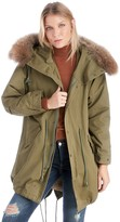 Sole Society Fur Trimmed Parka