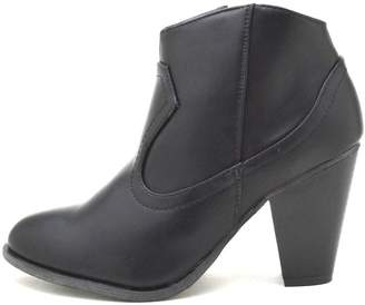 Bamboo Cowboy Ankle Bootie