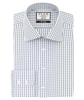 Thomas Pink Percival Check Slim Fit Button Cuff Shirt