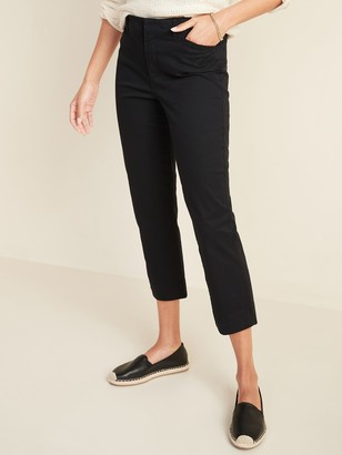 Old Navy Mid-Rise Pixie Chino Capris for Women