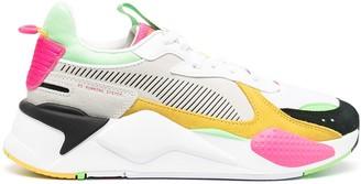 Puma Colour-Block Lace-Up Trainers