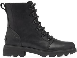 Sorel Lennox Leather Combat Boots