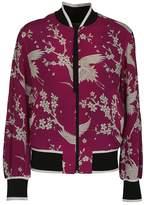 N°21 N.21 Floral Bomber Jacket