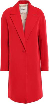 BA&SH Sandy Brushed-canvas Coat