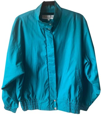 Christian Dior Turquoise Polyester Jackets