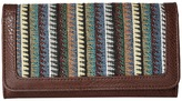 American West Tulum Flap Wallet Wallet Handbags