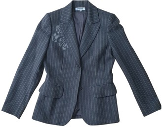 Georges Rech Grey Wool Jacket for Women