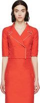 Nina Ricci Coral Cropped Jacket