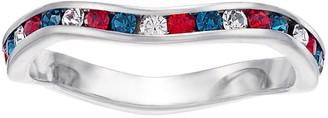 Brilliance+ Brilliance Swarovski Multicolor Wave Ring