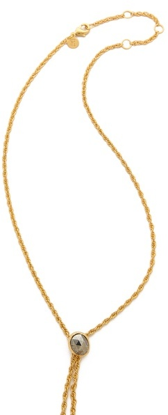 Alexis Bittar Lace Lariat Necklace