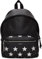 Saint Laurent Black Mini City Backpack