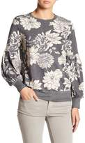 Bobeau Bubble Sleeve Sweater
