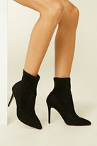Forever 21 FOREVER 21+ Faux Suede Sock Boots