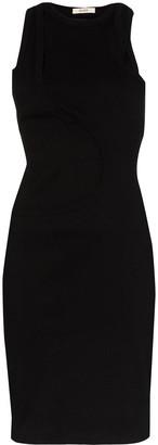 Zilver Juxtaposition bodycon dress