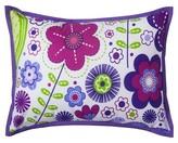 Bacati Botanical Purple Decorative Pillow
